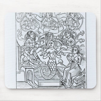 The Fay Melusine Mouse Mat