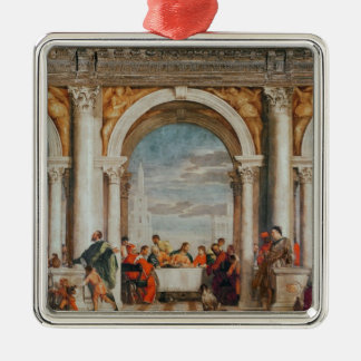 The Feast in the House of Levi Christmas Ornament