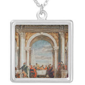 The Feast in the House of Levi Silver Plated Necklace