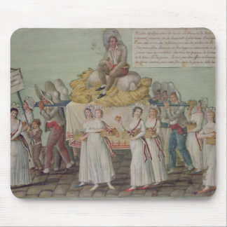 The Feast of Agriculture in 1796 at Paris Mouse Mat