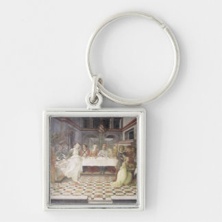 The Feast of Herod (fresco) (see also 60432) Keychain
