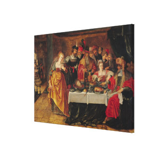 The Feast of Herod Gallery Wrapped Canvas