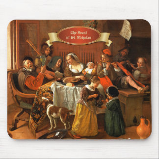 The Feast of St.Nicholas. Fine Art Gift Mousepads