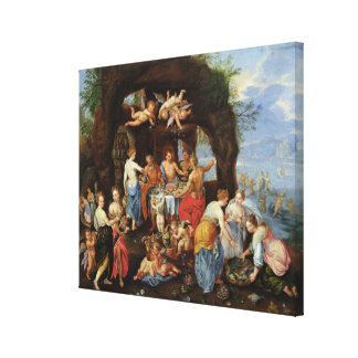 The Feast of the Gods Canvas Print