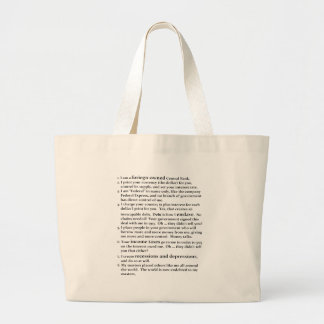 The Fed Jumbo Tote Bag