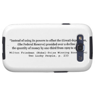 The Federal Reserve & The Great Depression Galaxy S3 Case