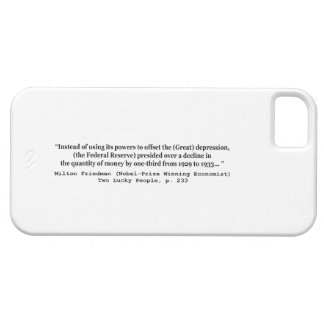 The Federal Reserve & The Great Depression iPhone 5 Covers
