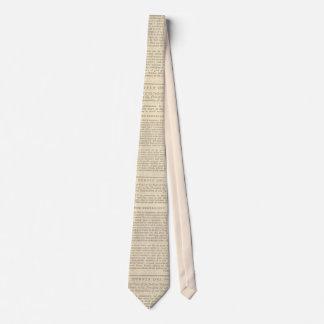 The Federalist Tie