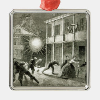 The Federals shelling the City of Charleston Christmas Ornament