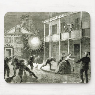The Federals shelling the City of Charleston Mouse Mat