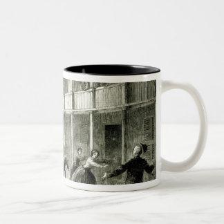 The Federals shelling the City of Charleston Two-Tone Coffee Mug