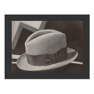 The Fedora Postcard