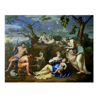 The Feeding of the Child Jupiter, c.1640 Postcard