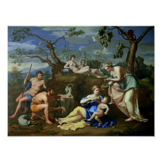 The Feeding of the Child Jupiter, c.1640 Poster