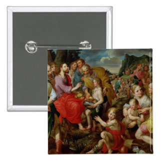 The Feeding of the Five Thousand 15 Cm Square Badge