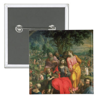 The Feeding of the Five Thousand, c.1590 15 Cm Square Badge