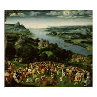 The Feeding of the Five Thousand Poster