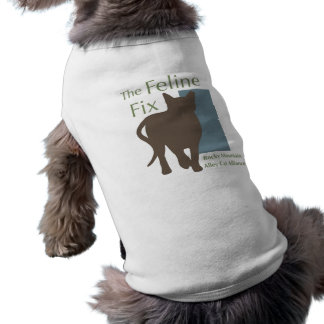 The Feline Fix Cat/Dog T-Shirt Sleeveless Dog Shirt