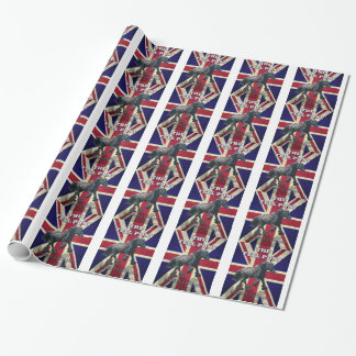 """The Fell Pony -- True Brit -- Made In England"" Wrapping Paper"