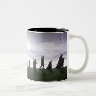 The Fellowship of the Ring Two-Tone Mug