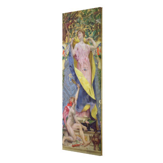 The Feminine Toilet panel Stretched Canvas Prints