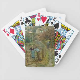 The Fence, 1872 (oil on canvas) Bicycle Playing Cards