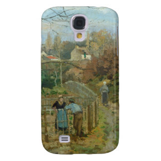 The Fence, 1872 (oil on canvas) Galaxy S4 Case