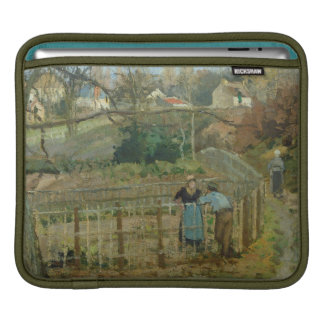 The Fence, 1872 (oil on canvas) iPad Sleeve