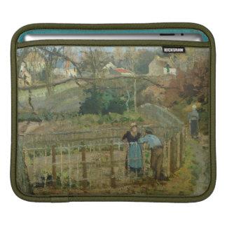 The Fence, 1872 (oil on canvas) iPad Sleeves