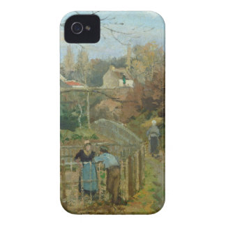 The Fence, 1872 (oil on canvas) iPhone 4 Case