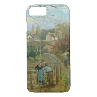 The Fence, 1872 (oil on canvas) iPhone 7 Case