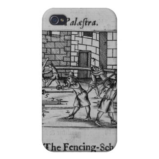The Fencing School iPhone 4 Cover