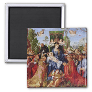 The Festival of the Rosary, 1506 Magnet