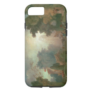 The Fete at Saint-Cloud (oil on canvas) (for detai iPhone 8/7 Case