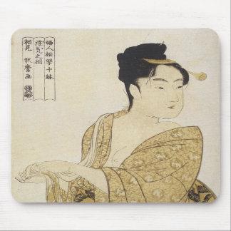 The FIckle Type Utamaro 1792-93 Mousepad