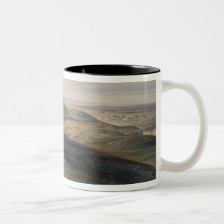 The Field of Inkerman, plate from 'The Seat of War Two-Tone Coffee Mug