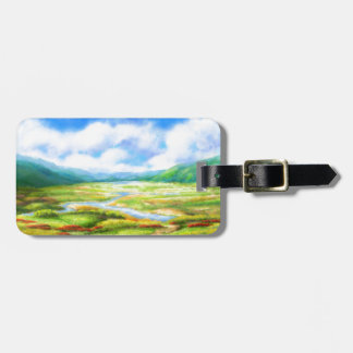 The Fields Are Teeming With Mellow Luggage Tag