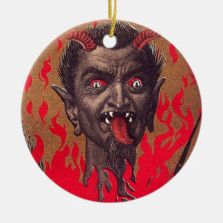 The Fiery Krampus Christmas Ornament