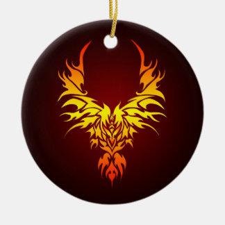 The Fiery Phoenix Christmas Ornament