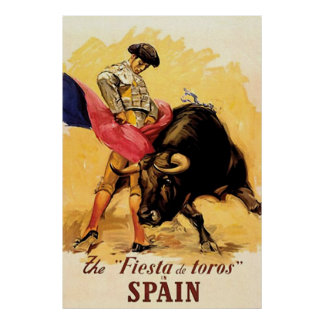 The Fiesta De Toros In Spain Print