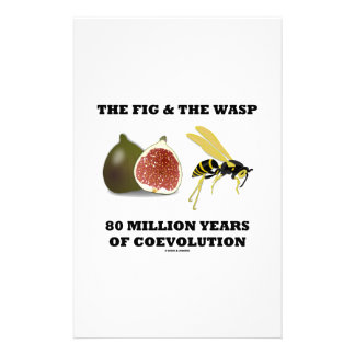 The Fig & The Wasp 80 Million Years Of Coevolution Personalised Stationery