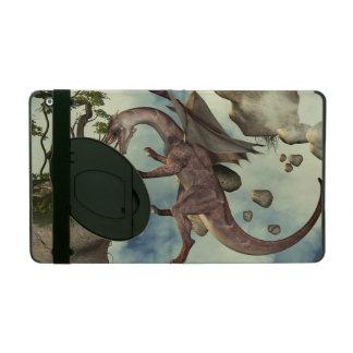 The fight, Dragon and dragon fighter iPad Folio Cases