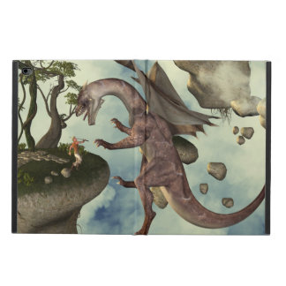 The fight, Dragon and dragon fighter Powis iPad Air 2 Case