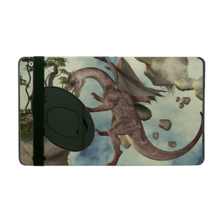 The fight, Dragon and dragon fighter iPad Cover