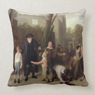 The Fight Interrupted 1815-16 Throw Pillow