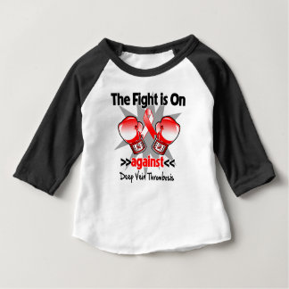 The Fight is On Against Deep Vein Thrombosis (DVT) Baby T-Shirt