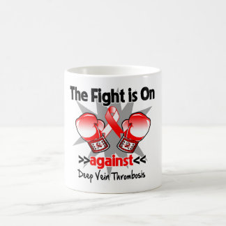 The Fight is On Against Deep Vein Thrombosis (DVT) Coffee Mug