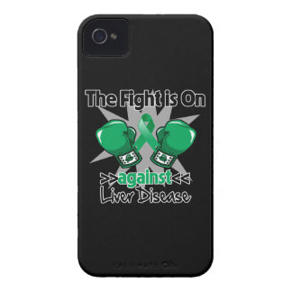 The Fight is On Against Liver Disease Case-Mate iPhone 4 Cases