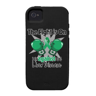 The Fight is On Against Liver Disease iPhone 4 Case