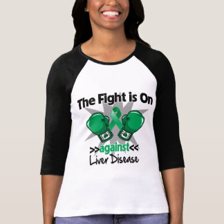 The Fight is On Against Liver Disease T Shirts